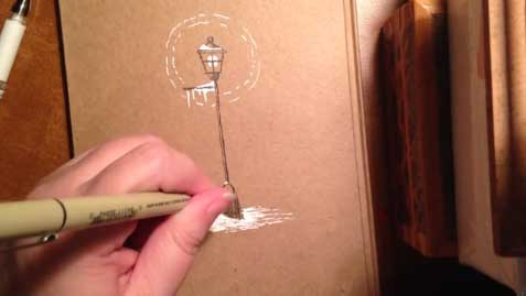 how-to-draw-a-lamppost